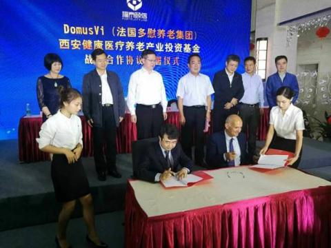 agreement between DomusVi Group and Fortrust Fund