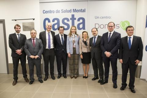 Casta Arévalo inaugurates a new building